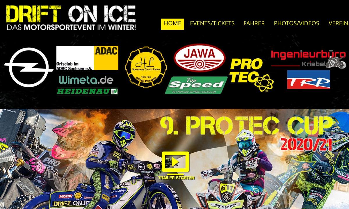 Vorschau: Drift on Ice, das Motorsport-Event im Winter