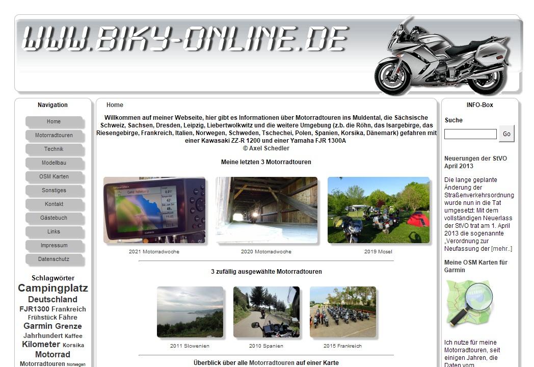 Vorschau: Motorrattouren Sachsen