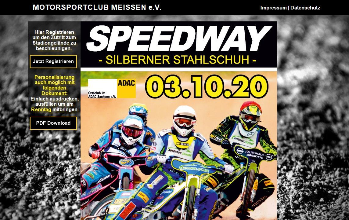 Vorschau: MC Meissen Speedway
