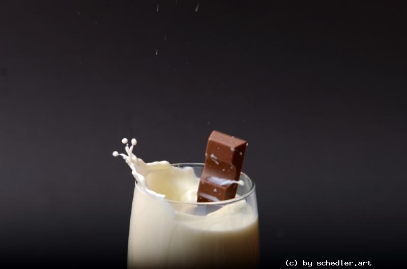 Foto: Schoki und Milch